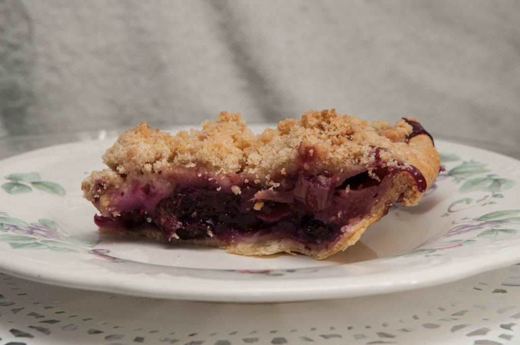 Blueberry Rhubarb Pie, photography by Diane & Doug Russell