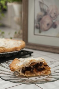 A slice of French Apple Pie-- Photo by Diane and Doug Russell