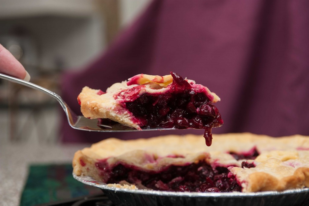 Cranberry Pie, Photo by Diane & Doug Russell