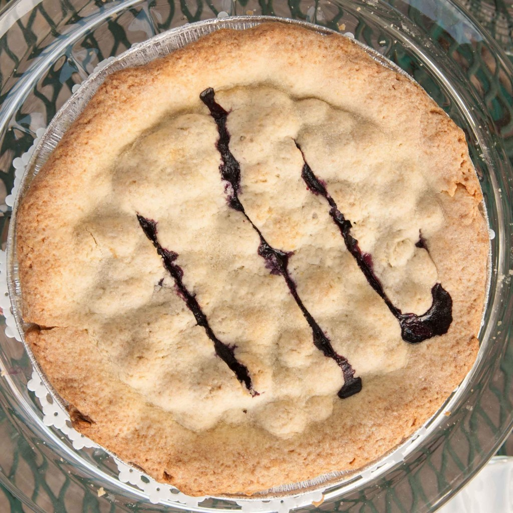 Blueberry Pie with Lemon Pastry Crust; Photo by Diane & Doug Russell