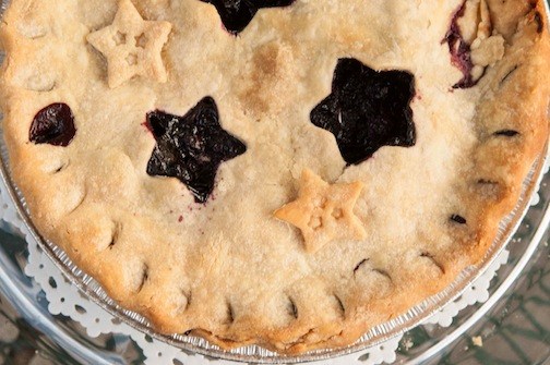 Blueberry Pie; Photo by Diane & Doug Russell