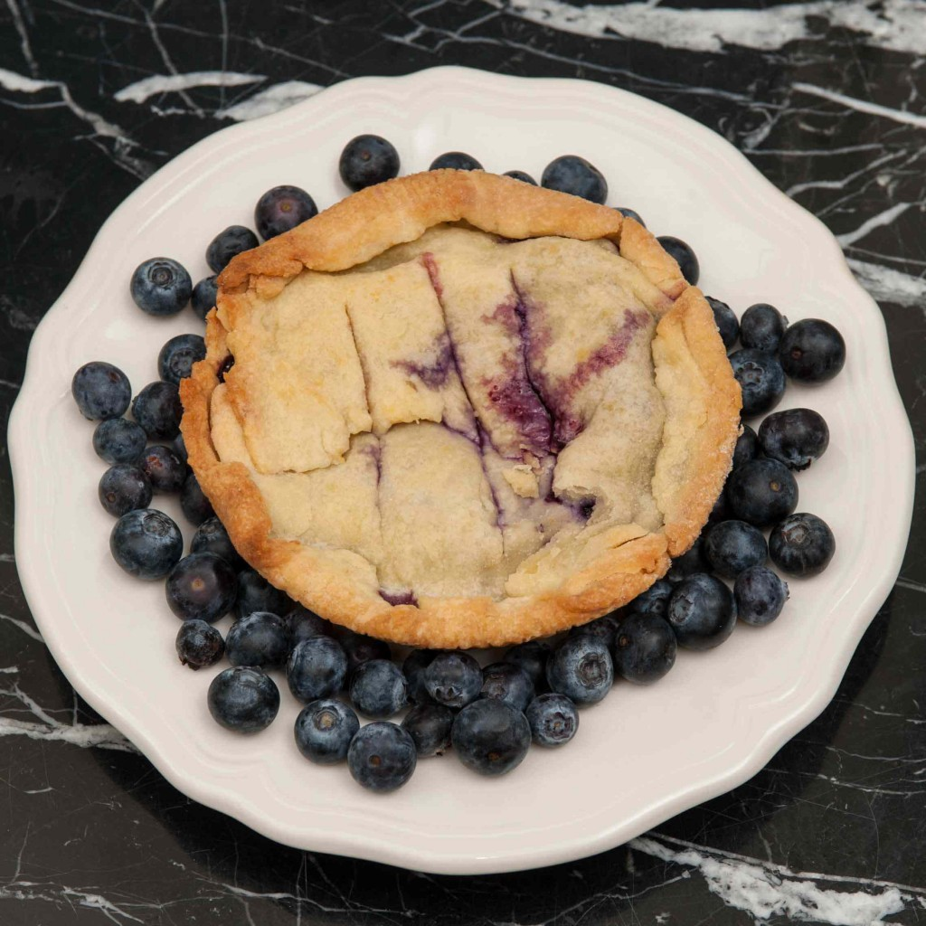 Mini Blueberry Pie; Photo by Diane & Doug Russell